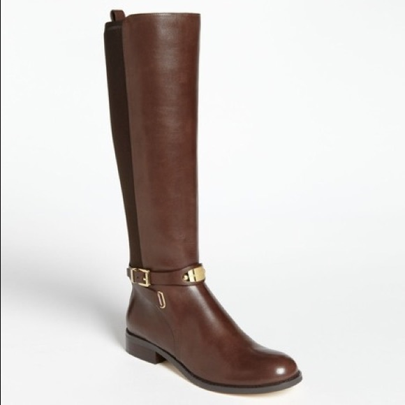 MICHAEL Michael Kors Shoes - Michael Kors Brown Leather Arley Boot